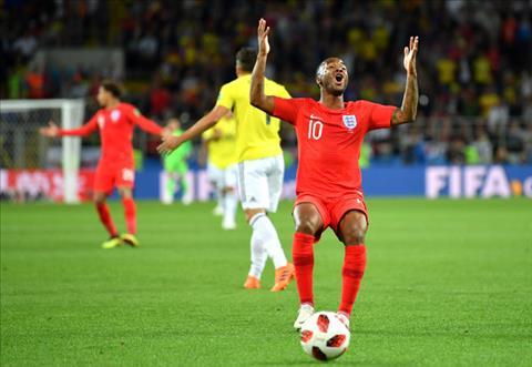 Sterling trận Colombia vs Anh được bảo vệ dù gây thất vọng hình ảnh