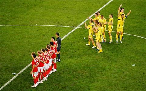 Thuy Si tung gay that vong lon khi thua Ukraine tai World Cup 2006.