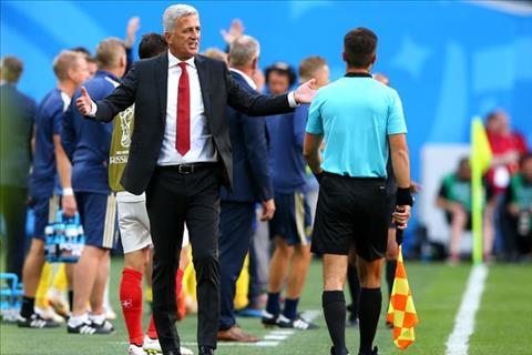 HLV Petkovic chia sẻ sau trận thua Thụy Điển World Cup 2018 hình ảnh