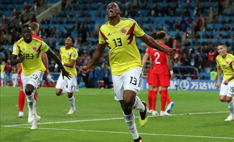 Mina ghi ban cho Colombia
