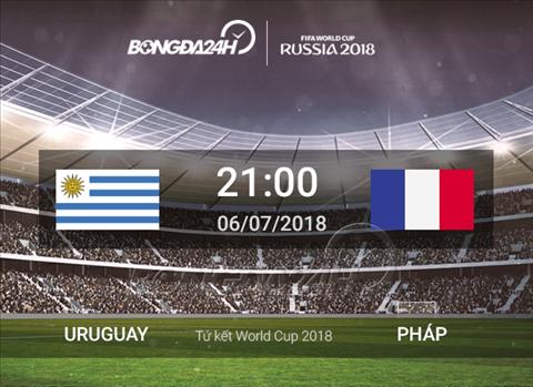 Nhận định Uruguay vs Pháp (21h ngày 67) tứ kết World Cup 2018 hình ảnh