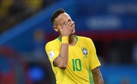 Neymar nhat nhoa khien Brazil roi World Cup 2018