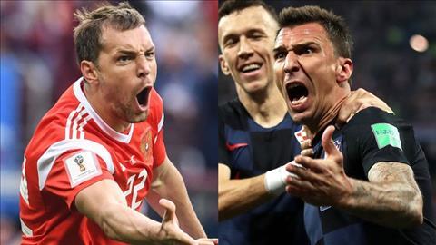 Nga va Croatia deu so huu nhung trung phong co the hinh an tuong la Dzyuba va Mandzukic.
