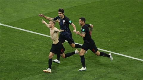 Tổng hợp: Nga 2-2 (pen 3-4) Croatia (World Cup 2018)