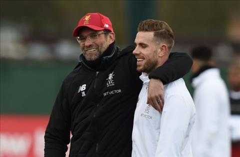 Jordan Henderson phát biểu về Liverpool hình ảnh