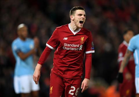 Liverpool muốn gia hạn hợp đồng với Andrew Robertson hình ảnh