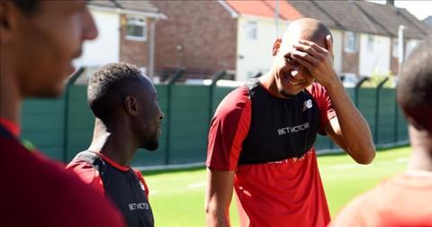 Fabinho va Naby Keita se la trai tim cua Liverpool o mua giai toi