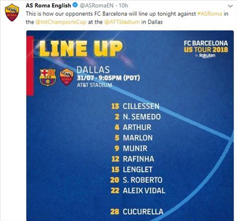 Roma sỉ nhục tiền vệ Malcom bằng cách xóa đi sự tồn tại của cầu thủ này