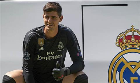 Real Madrid mua Thibaut Courtois