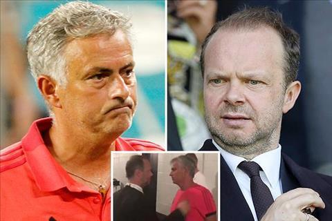 Mourinho va Woodward
