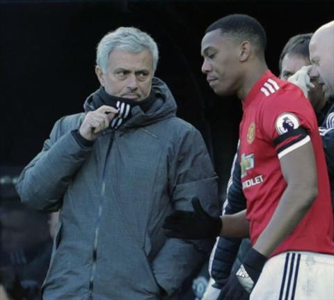 Mourinho phai giu bang duoc Martial