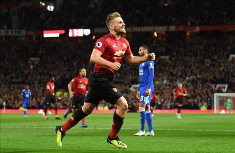 Luke Shaw phát biểu sau trận đấu MU 2-1 Leicester hình ảnh
