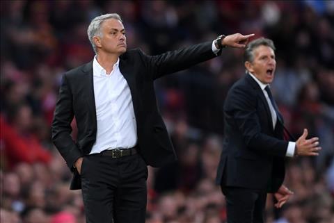 Mourinho tran M.U vs Leicester