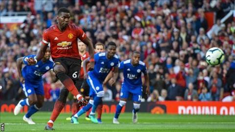 Paul Pogba phát biểu về MU sau chiến thắng trước Leicester hình ảnh