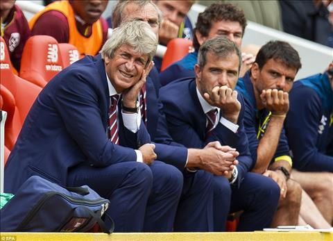 HLV Manuel Pellegrini sau trận thua Liverpool hình ảnh