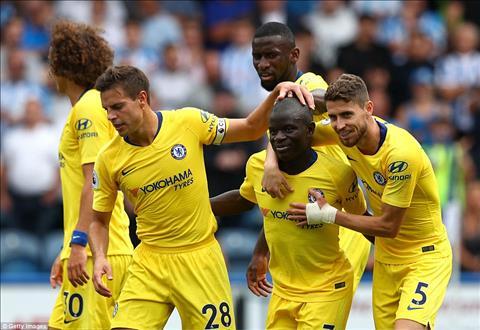 Kante ghi ban cho Chelsea