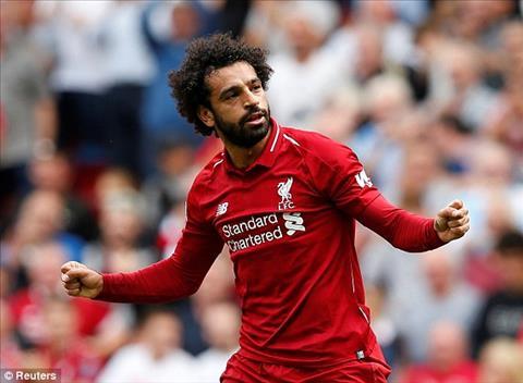 Mohamed Salah mo ti so cho tran dau Liverpool vs West Ham.