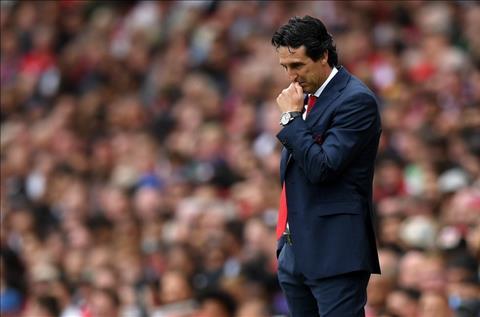 HLV Emery bị chỉ trích trận thua Arsenal 0-2 Man City hình ảnh