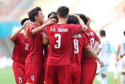 Dư âm Olympic Việt Nam 3-0 Olympic Pakistan Khởi đầu rực rỡ nhưn hình ảnh