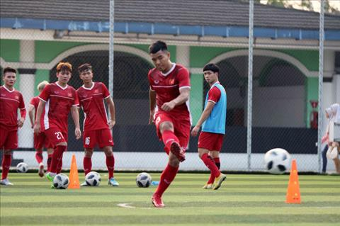 Olympic Việt Nam thay đổi kế hoạch tập luyện sau trận thắng Pakis hình ảnh