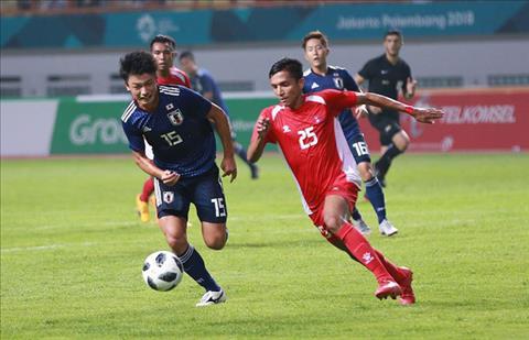 Olympic Nhat Ban 1-0 Nepal