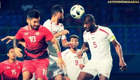 Kết quả Olympic Indonesia vs Olympic Palestine 1-2 Asiad 2018 hình ảnh