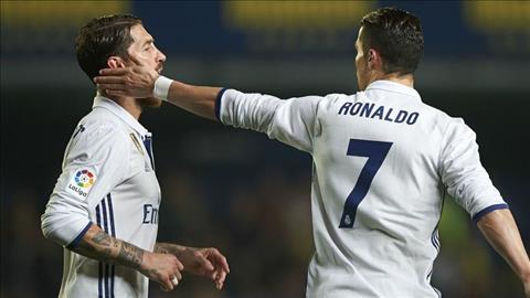 Sergio Ramos phát biểu phản pháo Cristiano Ronaldo về Real Madrid hình ảnh