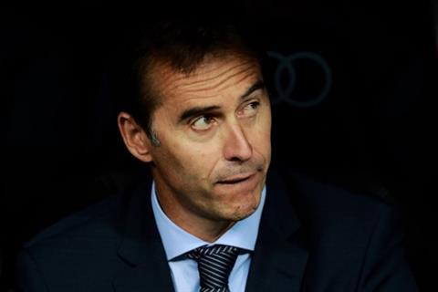 HLV Julen Lopetegui noi cung sau tran thua Atletico Madrid.