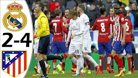 Real Madrid thua Atletico Madrid trong tran tranh Sieu cup chau Au 2018.