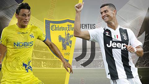 Nhận định Chievo vs Juventus 23h00 ngày 188 Serie A 201819 hình ảnh