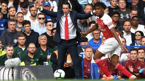 HLV Emery hài lòng dù Arsenal thua đau Chelsea hình ảnh