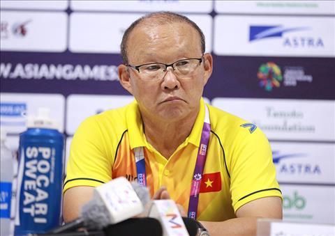 HLV Park Hang Seo nói về chiến thắng lịch sử của Olympic Việt Nam hình ảnh