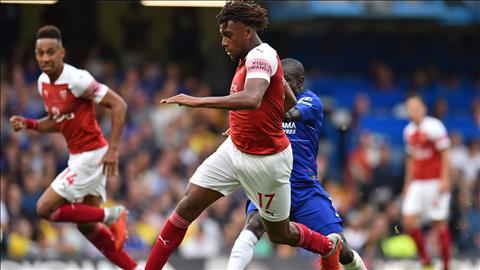 Alex Iwobi kêu gọi đồng đội đứng dậy sau thất bại trước Chelsea hình ảnh