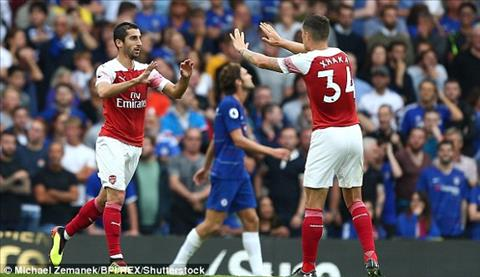 Mkhitaryan giup Arsenal rut ngan cach biet.