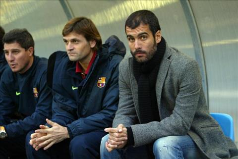 Xác định thời điểm HLV Pep Guardiola trở về Barcelona hình ảnh