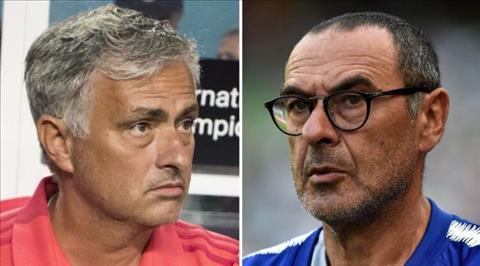 Jose Mourinho phát biểu về Maurizio Sarri hình ảnh