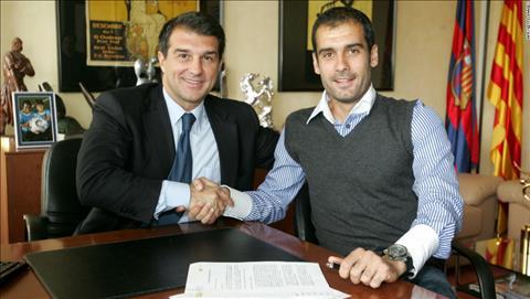 Joan Laporta dat niem tin vao Pep Guardiola sau mua giai thanh cong cung Barca B.