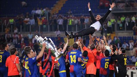 Pep Guardiola tu tin se gianh duoc moi thu khi dan dat doi mot Barcelona.