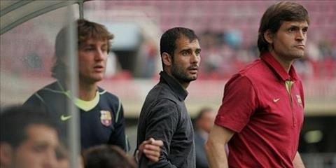 Pep Guardiola nhanh chong gay an tuong voi Barca B.