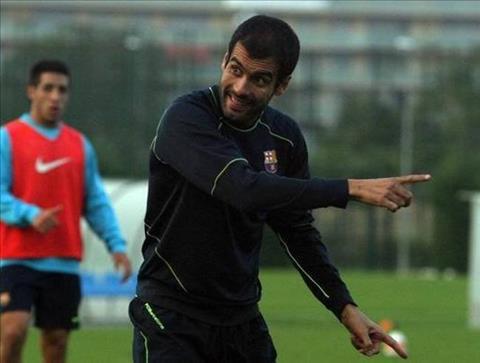Pep Guardiola rat kien quyet trong cac buoi tap voi Barca B.