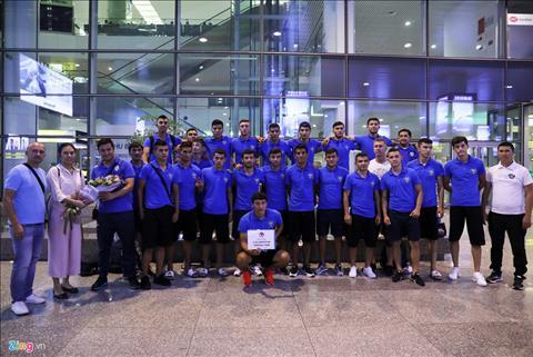 U23 Uzbekistan thể hiện sự tự tin trước trận tái đấu Việt Nam  hình ảnh