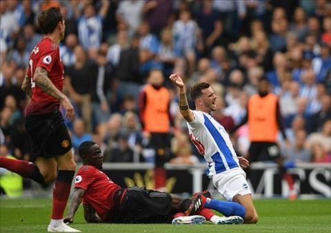 4 Quỷ đỏ chơi tệ nhất ở trận Brighton 3-2 MU hình ảnh
