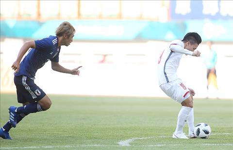 Cầu thủ Nhật Bản ấn tượng với tốc độ của Olympic Việt Nam hình ảnh