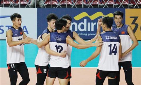 Bóng chuyền Việt Nam thắng Trung Quốc ở Asiad 2018 hình ảnh