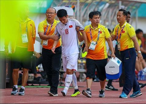 HLV Park Hang Seo tiếc nuối vì chấn thương của Đỗ Hùng Dũng hình ảnh