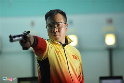 Xạ Thủ Hoàng Xuân Vinh bất ngờ thất bại ở Asiad 2018 hình ảnh