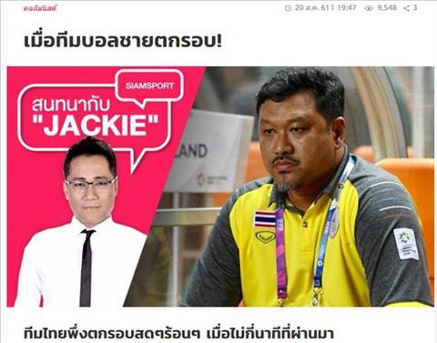 Người Thái nói gì về thất bại của ĐT Olympic Thái Lan tại ASIAD hình ảnh