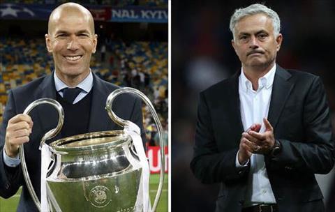 Mourinho va Zidane