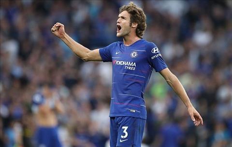 Marcos Alonso tỏ ra hạnh phúc tại Chelsea