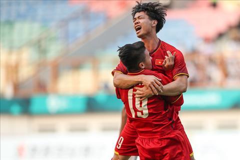 Đội hình ra sân Olympic Việt Nam vs Olympic Bahrain Công Phượng hình ảnh